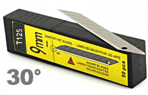 30 deg carbon blade (pack of 50)